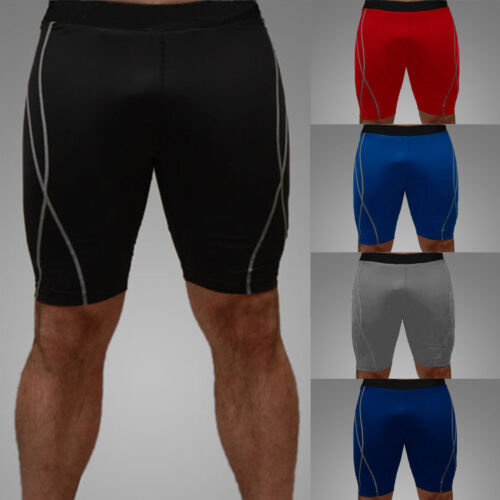Men Compression Shorts Pants Fitness Sports Athletic Base Layer Briefs Underwear