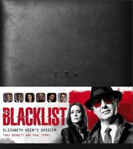 The-Blacklist-Elizabeth-Keen-039-s-Dossier-by-Tara-Bennett-Paul-Terry-NEW-Book-F