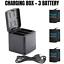 thumbnail 16 - TELESIN Battery Charger Case For GoPro Hero 8 7 6 5 Black Charging& Storage Box