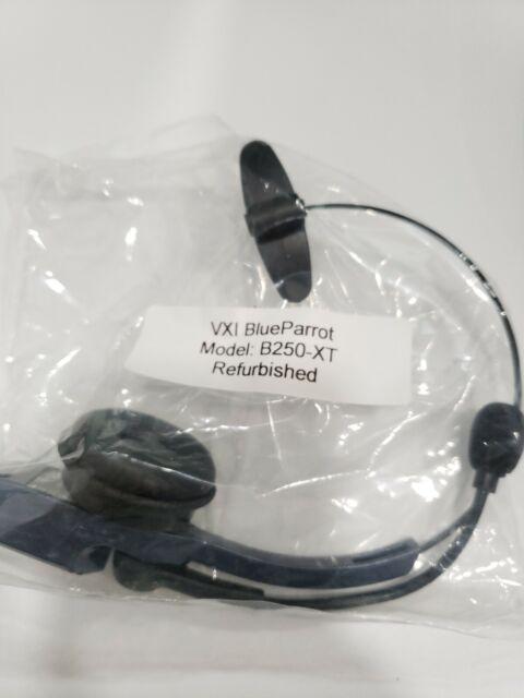 Blueparrott B250 Xt With Barrel To Usb Chargers Bluetooth Headset Ebay