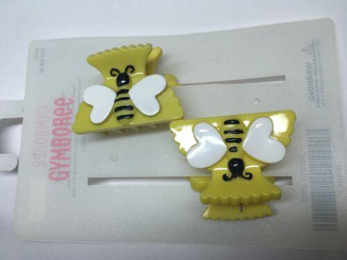 Details about  /Gymboree Bumble Bee Chic Line Barrette//Clip NWT Yellow Snap Vintage Hive VHTF