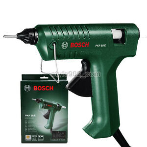 original bosch pkp 18e glue gun hot melt 110 220v pkp18e ebay. Black Bedroom Furniture Sets. Home Design Ideas