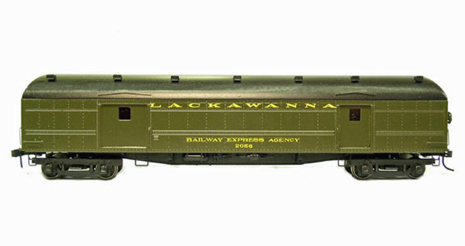 DELAWARE LAKAWANNA & WESTERN EXPRESS BAGGAGE CAR 2035-2064 HO Railroad Kit BC930