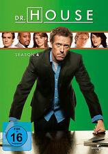 4 DVDs * DR. HOUSE - STAFFEL / SEASON  4 # NEU OVP +