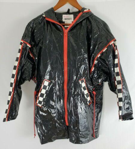 Kenn Sporn for Wippette Vinyl Black Raincoat Rain