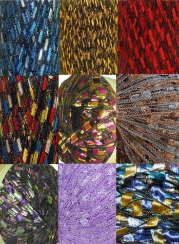 135 Yards 9 Colors Ladder Trellis Yarn for 9 Necklaces Mix lot #2
