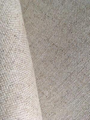 White 25 count Zweigart Dublin Linen evenweave fabric 100 x 70 cm