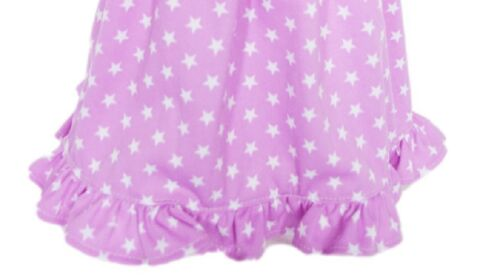 "Doll Clothes 18/"" Nightgown Lavender White Stars Fits American Girl Dolls"