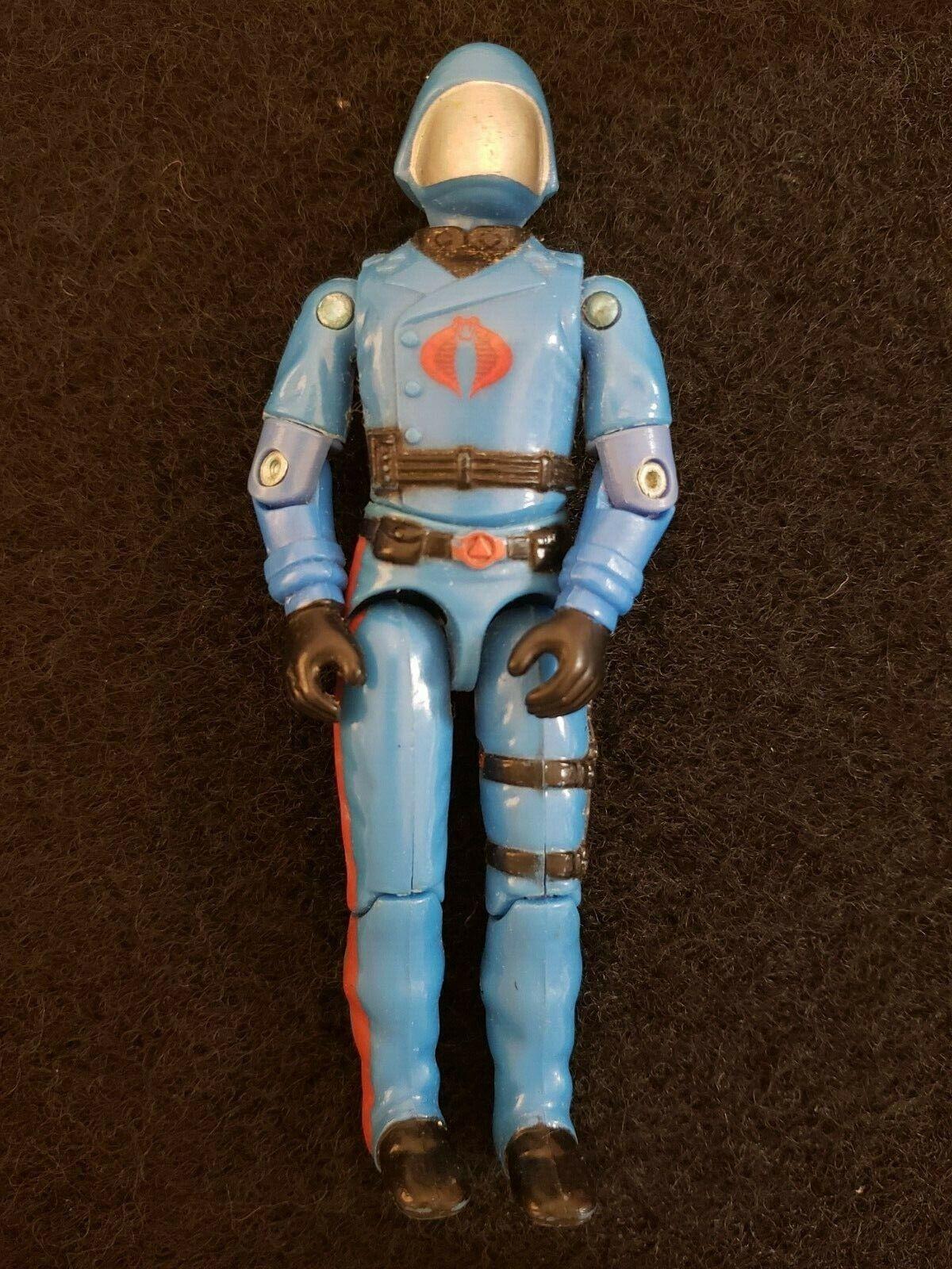 Vintage G.I. Joe Cobra 3.75  cobra commander action figure loose Hasbro 1983