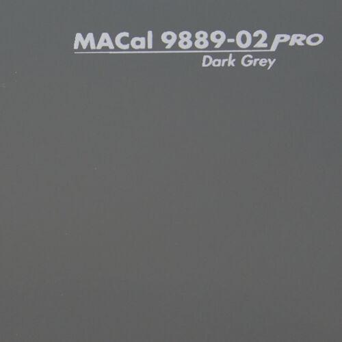 Autofolie 10 m 5,00 € //m PKW KFZ Folie dunkelgrau glänzend 61,5 cm