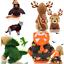 Pet-Dog-Santa-Halloween-Cosplay-Clothes-Puppy-Cat-Pumpkin-Hoodie-Costume-Apparel thumbnail 1