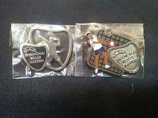 Olympic Sport Tennis ShangHai Rolex Masters Game Pin Badge,2P Set,Rare !