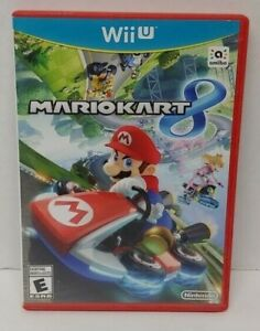 Mario Kart 8 Racing - Nintendo Wii U Game Tested & Working COMPLETE