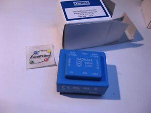 Dagnall-D2019-Encapsulated-Transformer-2-3VA-230V-Pri-9V-Sec-NOS-Qty-1