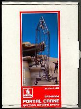Brengun Models 1/48 GERMAN AIRFIELD PORTAL CRANE Resin & Photo Etch Set