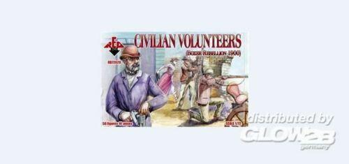 Red Box rb72028 ART 1875 1900 Civilian volunteers BOXER ribellione 190
