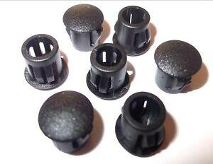 9-5mm-Redondo-Domed-Ojales-Enchufe-de-extremo-de-plastico-tubo-de-supresion-Insert-Calidad-Superior