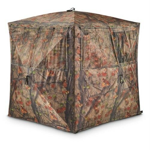 Portable Pop Up Deer Hunting Blind Tent Ground Stand Outdoor Wild Game Turkeys