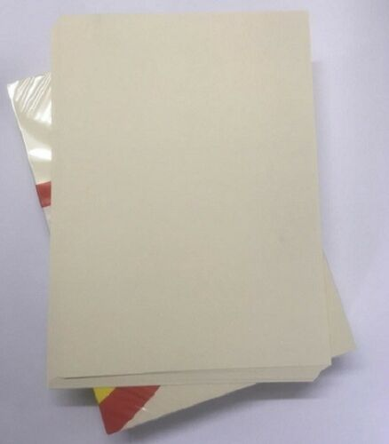 A4 Ivory Vanilla Cream coloured card 160gms Arts /& craft Laser Inkjet printing