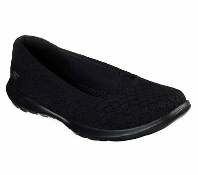 Skechers Women's Go Walk Lite Loveable Goga Mat Walking Slip On Shoe 15386 | eBay