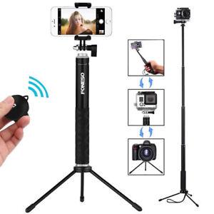 ec78cc9d49a884 Extendable Selfie Stick+wireless Remote Shutter+Tripod Mount for ...