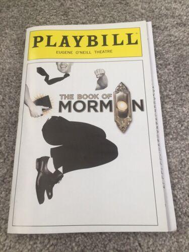 Book Of Mormon Playbill January 2019 Broadway