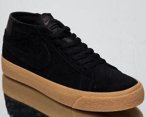 253f0ccec93f3 Nike SB Zoom Blazer Chukka Men s New Black Lifestyle Skate Sneakers ...