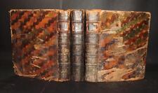 1776 Cormon NUEVO DICCIONARIO DE LAS LENGUAS ESPANOLA FRANCESA Y LATINA 3 Vols
