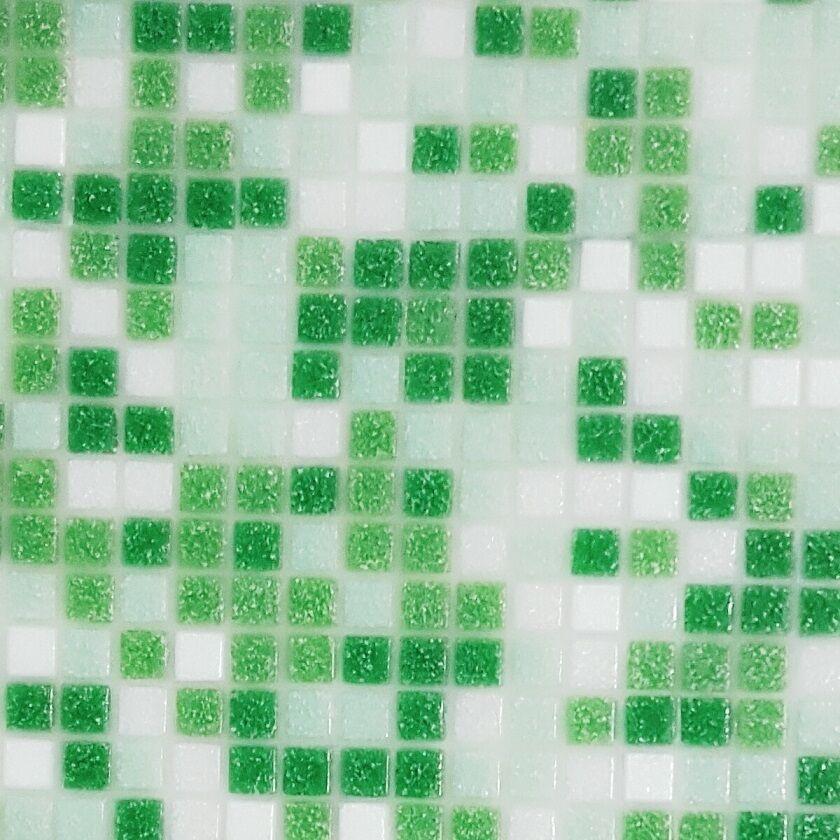 0,9qm  10 Netze 1x1 cm Fliesennetz Glasmosaik 12 MIX Farben ROT BLAU GRÜN WEIß