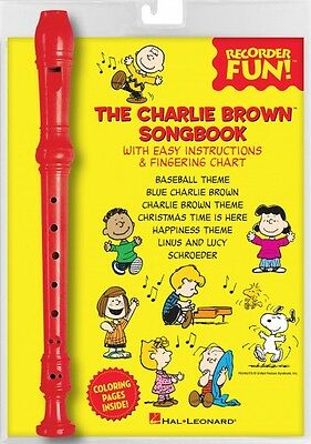 Book Recorder Pack New 000158666 High Resilience The Charlie Brown Songbook Recorder Fun Instruction Books, Cds & Video