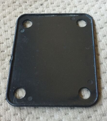 Epiphone Strat Style Electric Guitar Neck Plate Original Black Pad