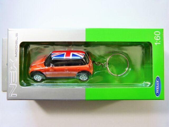 Welly Schlüsselanhänger Mini Cooper orange in 1:60  Neu & OVP
