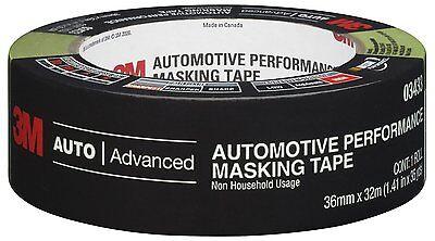 3M Automotive Performance Masking Tape 36mm x 32m Advanced Auto NIP New 03433