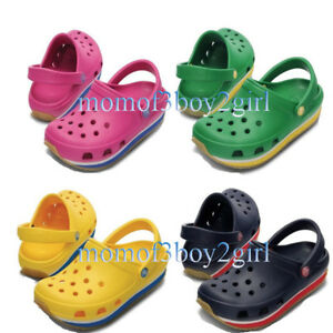 best sneakers 021f9 4157c Image is loading Unisex-Croc-Retro-Clog-Slippers-Summer-Shoes-Sandals-