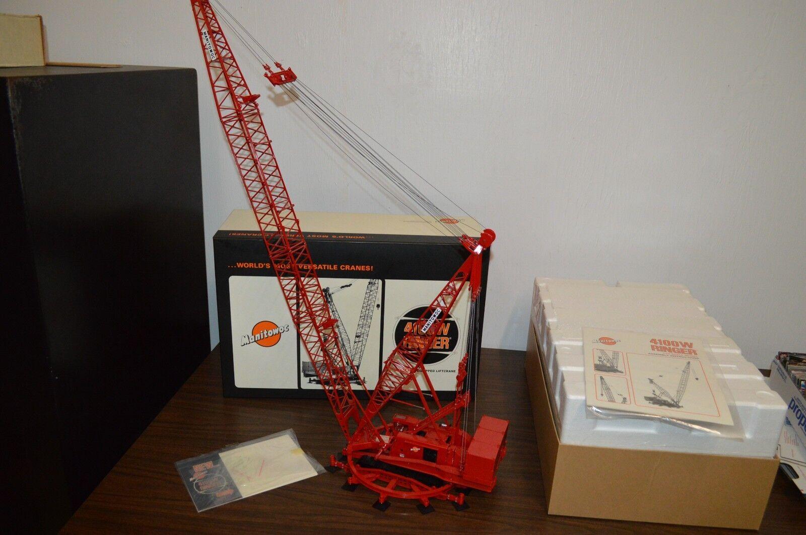 hommeITOWOC 4100 W sacueer Crane - 1 50 Scale-TWH   051-01041    A VOIR  bienvenue pour acheter