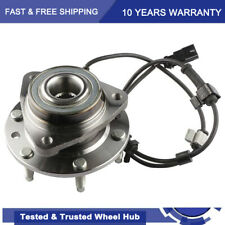 New Front Wheel Hub Bearing Assembly For Chevy Trailblazer Gmc Suv With Abs 6 Lug