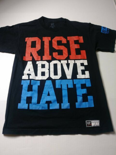 WWE Rare John Cena Wrestler Graphic Blue T Shirt Boys M New