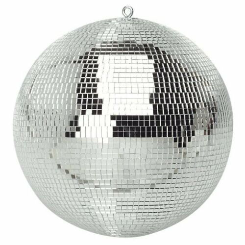 300mm Shiny Silver Party Disco Mirror Ball Club DJ New Ideal for Bedroom