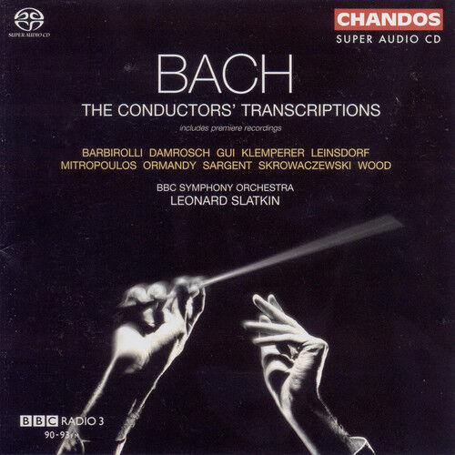 Leonard Slatkin, J.S - Bach Conductor's Transcriptions [New SACD] Hybrid SA