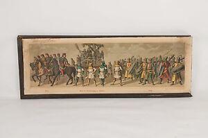 9-Original-Lithographien-1880-Adolf-Wallraf-Jr-Historischer-Festzug-Dom-Koeln