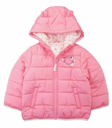 Carter/'s Girls Pink 3D Ear Bubble Jacket Size 2T 3T 4T 4 5//6 6X