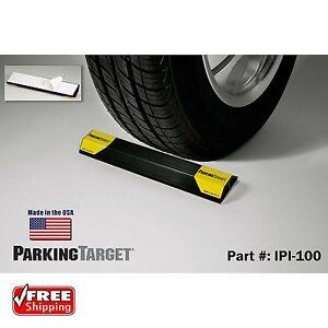 Garage Parking Stop >> Details About Garage Parking Aid Curb Wheel Stopper Driveway Rubber Park Guide Block Stop Car