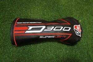 Wilson-Golf-D300-Superlight-3-W-Bois-De-Fairway-un-Couvre-Bois-Tete-Housse-tres-bon