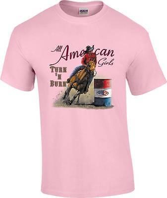L or XL Western Tshirt S Cowgirl M One Good Turn Horse