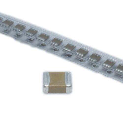 100x CL21B102KBANNNC Kondensator Keramik MLCC 1nF 50V X7R ±10/% SMD 0805