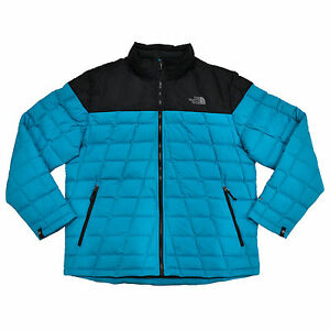 ff1da73188d1 The North Face Jacket Mens Puffer Insulated 550 Down Zip Mock Neck X ...