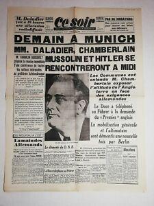 N1170-La-Une-Du-Journal-Ce-Soir-29-septembre-1938-Munich-daladier-chamberlain