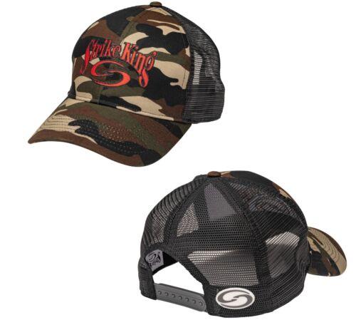 Strike King Trucker Cap Trucker-Style Hat 6 designs Branded Fishing Apparel