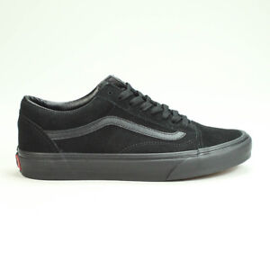 3ac07582a4 Vans Old Skool Suede Trainers Shoes Brand New in Black UK Size 4