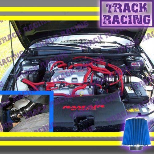 99-05 PONTIAC GRAND AM\OLDSMOBILE ALERO 3.4L V6 COLD AIR INTAKE Black Blue 3p